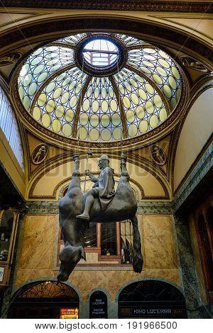 Horse Statue David Cerny