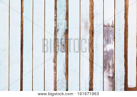 Surface of paint old wood texture background.