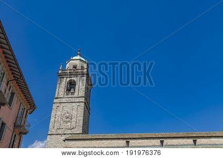 San Giacomo Church In Bellagio, Italy