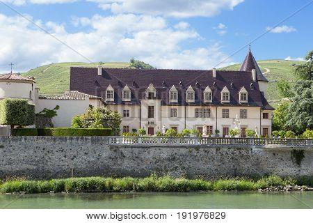 Chateau in Ampuis, Cotes Du Rhone, France,