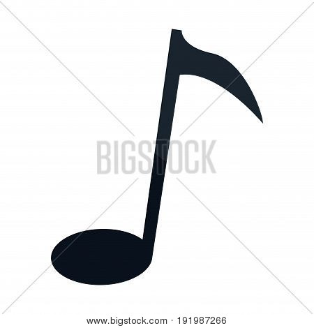 note music sound melody armony icon vector illustration