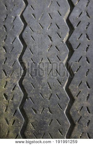 Automotive Tire Tread Abstract