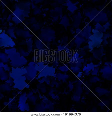 Dark Blue Watercolor Texture Background. Nice Abstract Dark Blue Watercolor Texture Pattern. Express