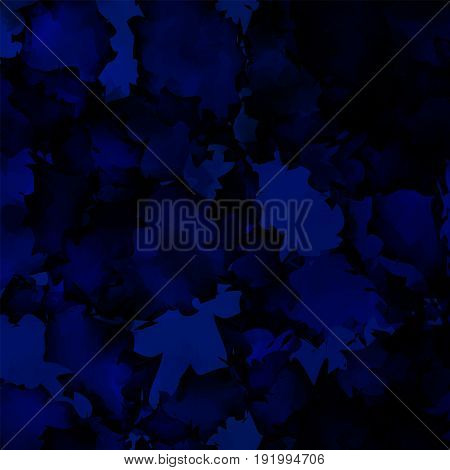 Dark Blue Watercolor Texture Background. Sightly Abstract Dark Blue Watercolor Texture Pattern. Expr