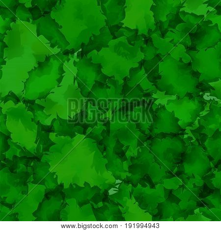 Dark Green Watercolor Texture Background. Adorable Abstract Dark Green Watercolor Texture Pattern. E