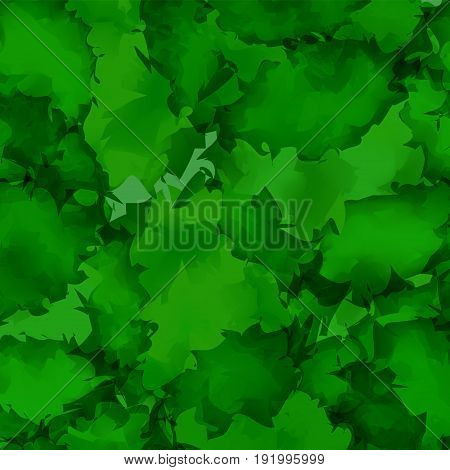 Dark Green Watercolor Texture Background. Fascinating Abstract Dark Green Watercolor Texture Pattern