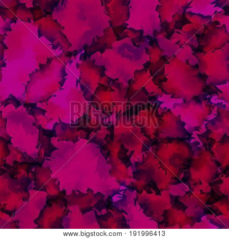 Dark Pink Watercolor Texture Background. Glamorous Abstract Dark Pink Watercolor Texture Pattern. Ex