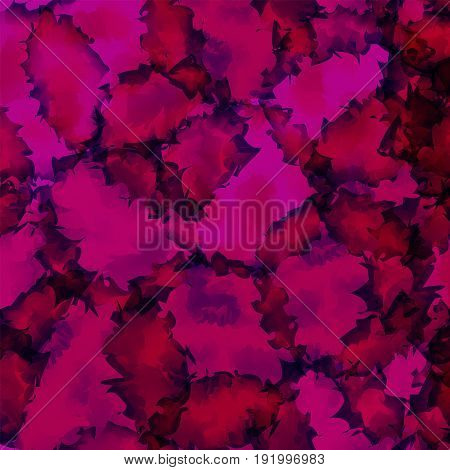 Dark Pink Watercolor Texture Background. Majestic Abstract Dark Pink Watercolor Texture Pattern. Exp