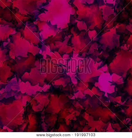 Dark Pink Watercolor Texture Background. Mind-blowing Abstract Dark Pink Watercolor Texture Pattern.
