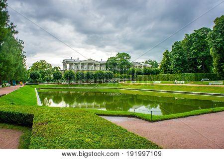 RUSSIA Tsarskoe Selo - JULY 20 2013. Cameron Gallery in Tsarskoye Selo