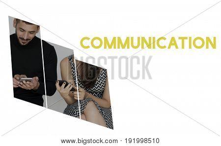 Communication connect conversation message talking