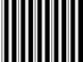Op Art Black And White Smooth Stripes One poster