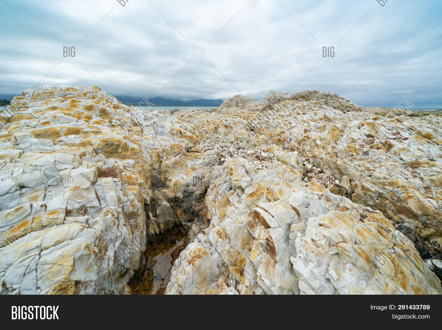 Rugged White Sandstone Image Photo Free Trial Bigstock