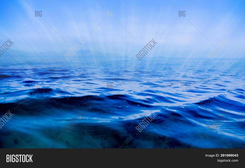 Blue Sea Brighten Sea Image & Photo (Free Trial) | Bigstock