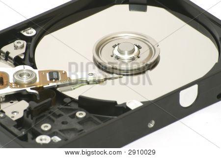 Opened Hard Disk