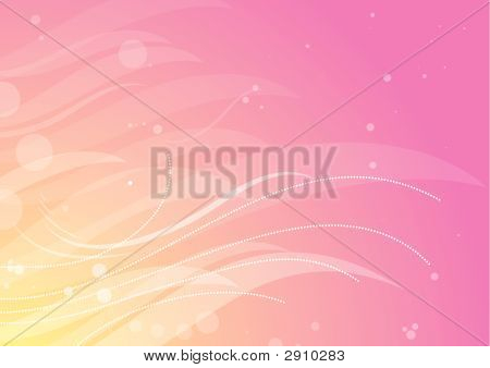 Pink  Background, Vector