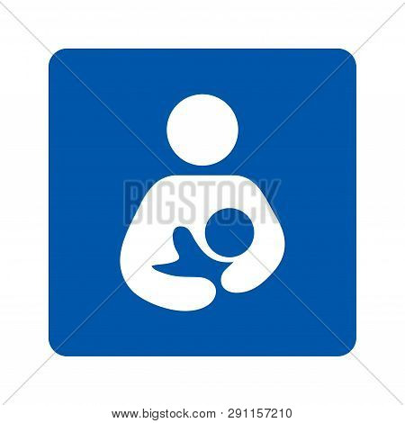 Breastfeeding Sign Pictogram Illustration With A White Background