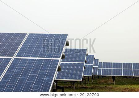 Park With Solar Cells