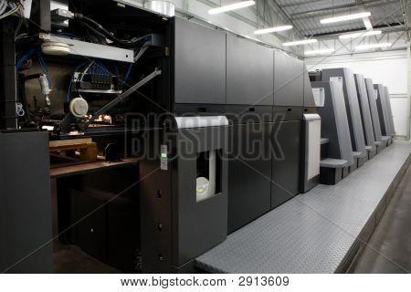 moderne Druckerei