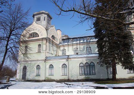 Old palace in Korsun,Ukraine poster