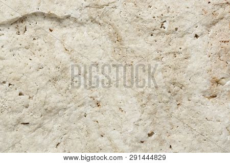 Macro Of Decorative Stone Brick, Rough Texture
