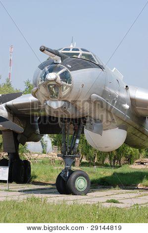 Медведь. ТУ-95.Экспонат музея авиации. Киев, Украина (Малороссии)