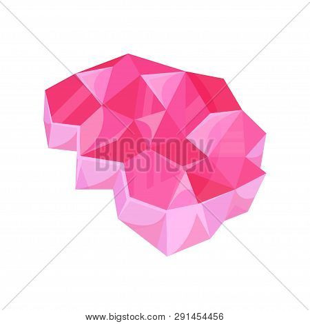 Mineral Resourse, Bright Pink Geology, Mine Industry