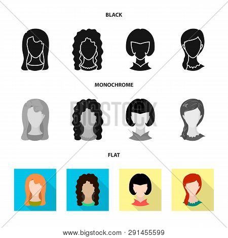 Vector Design Of Professional And Photo Icon. Set Of Professional And Profile Vector Icon For Stock.