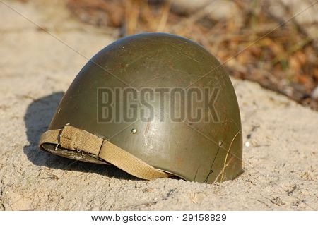 Soviet battle helmet. (M40)(1940)