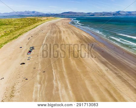 Inch Beach, Wonderful 5km Long Stretch Of Glorious Sand And Dunes, Popular For Surfing, Swimming And
