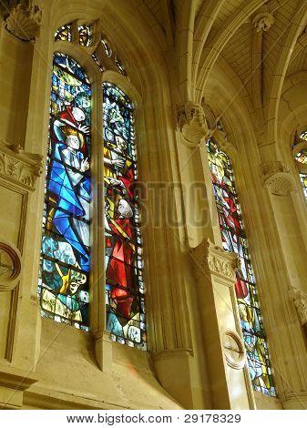 Chapel at the Chateau de Chenonceau, France