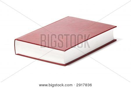 Book Isolated On White