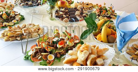 Catering Buffet Or Party Food, Appetizers