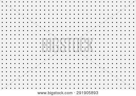 Small Polka Dot Seamless Pattern Background Extreme Closeup. 3d Rendering