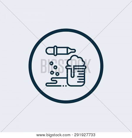 Chemical Reaction Icon Isolated On White Background. Chemical Reaction Icon Simple Sign. Chemical Re