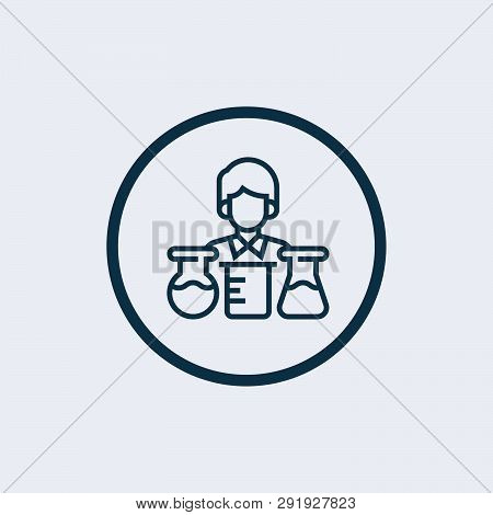 Laboratory Icon Isolated On White Background. Laboratory Icon Simple Sign. Laboratory Icon Trendy An