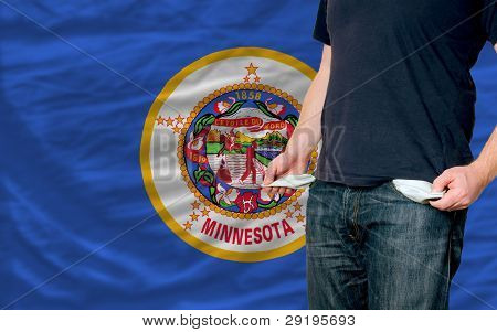 Recession Impact On Young Man And Society In American State Of Minnesota