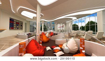 Multifunctional modern interior