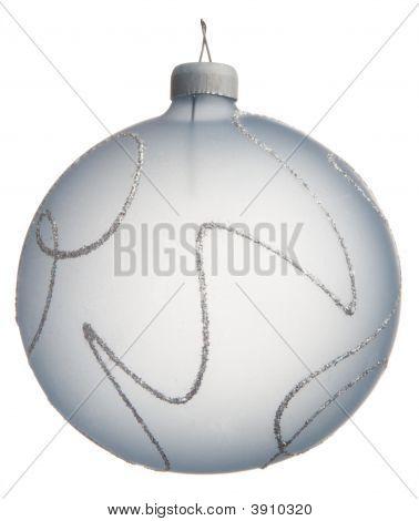 Light Blue Crustal Christmas Decoration