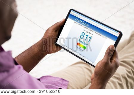 African American Online Credit Score Report. Loan Application Approved