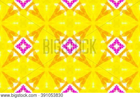 Traditional Seamless Motif Pattern. Acrylic Chevron Design. Artistic Drawn Ethnic Geometric Motif. C