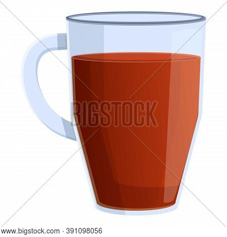 India Tea Cup Icon. Cartoon Of India Tea Cup Vector Icon For Web Design Isolated On White Background
