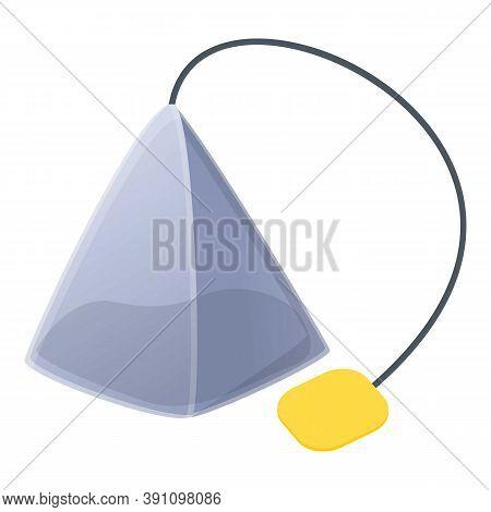 Tea Pyramide Icon. Cartoon Of Tea Pyramide Vector Icon For Web Design Isolated On White Background