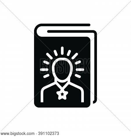 Black Solid Icon For Wisdom Intelligence Sagacity Dexterity Sapience Prudence Experience Understandi