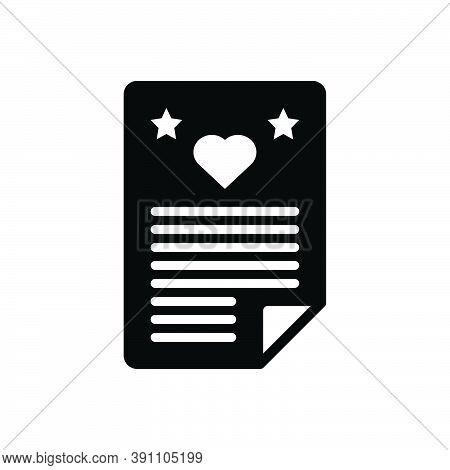 Black Solid Icon For Wish Ambition Wishlist Hope Prayer Request Aspiration