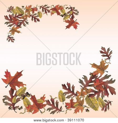 Autumn Leaves Memo Page
