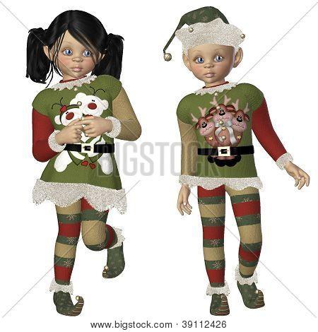 The Elf Kids