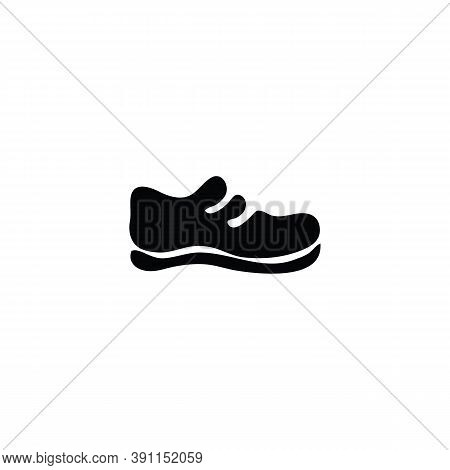 Shoe Side View Icon Isolated On White Background From Fashion Collection. Shoe Side View Icon Trendy