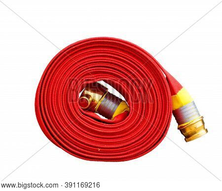 Fire Equipment Extinguishers Watercourse Fire Extinguisher Red Ready To Use In The Outdoor.