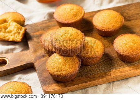 Homemade Warm Cornbread Muffins